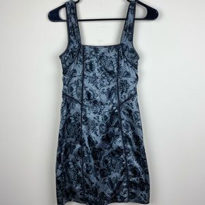 Free people sheer nighty dress floral size XS